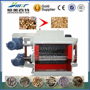 380V Voltage with Low Consumption Fuel Wood Slicer Mill Machine