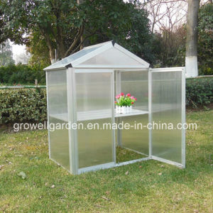 Mini Hobby Greenhouse with PC Panels and Aluminium Frames (MA323) pictures & photos
