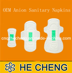 Disposable OEM Lady Anion Sanitary Napkin (PL-245) pictures & photos