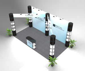 Trade Show Folding Booth Pop up Banner Exhibition Display Stand pictures & photos
