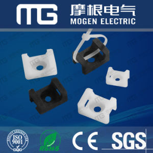 Plastic Saddle Cable Tie Mount pictures & photos
