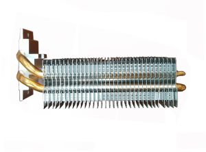 LED Heat Sinks with Aluminum Fins and Sintered Heat Pipes
