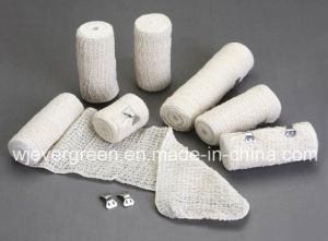 Medical Hospital Supplies Natural Colour Elastic Crepe Bandage