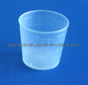 30/60ml Medicine Cup with Smooth Edge and Good Transparence pictures & photos