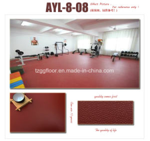Manufacture Top Quality Healthy Non-Slip Durable Waterproof PVC Vinyl Flooring pictures & photos