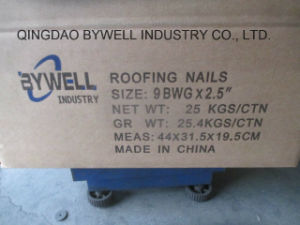 High Quality Galvanized for Roofing Nails (2.5 inch & 2 inch *9G, 10G)
