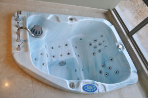 Indoor Classic Acrylic Massage Bathtub Jcs-21 pictures & photos