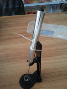 2015 Cheaper Electric Pen Shape Frother with Stand (VK15010)