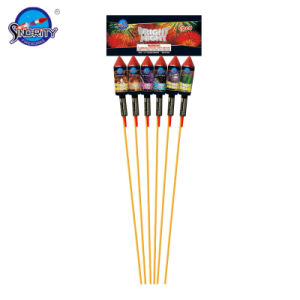 Sf-R3007 Bright Night Midium Size Rocket Fireworks
