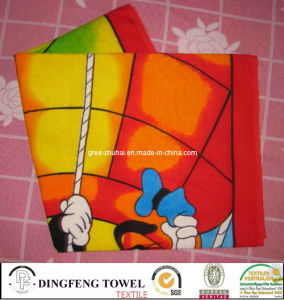 New Microfiber Printed Beach Towel Df-8650 pictures & photos