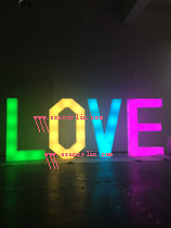 LED Acrylic Love Letter