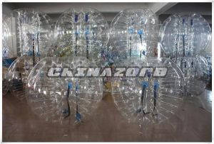 Crazy Sports Game Transparent Inflatable Bubble Soccer Ball