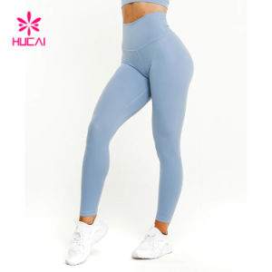 Wholesale Fashion Tights Slim Fit Women Athletic Leggings