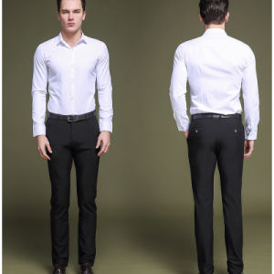 Mens Business Formal Suit Pants Slim Fit Design Men Trouser pictures & photos