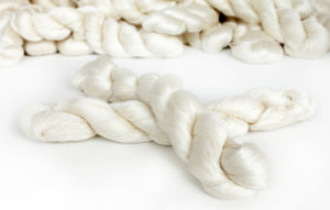 60/2 Pure Mulberry Silk Yarn for Knitting and Weaving