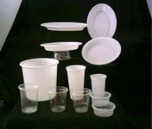Tilt Mold Plastic Cup Forming Machine pictures & photos