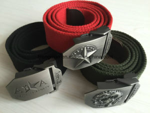 "1"" Cotton Military Belt"