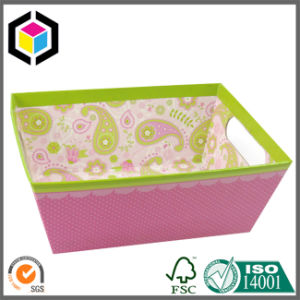 Cut Handle Holes Cardboard Paper Gift Tray for Food Display