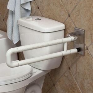 China Nylon Folding Up Handicap Toilet Grab Bars China