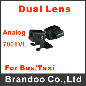 Analog Dual Lens IR 700tvl Car Camera