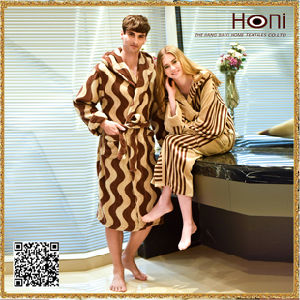 Terry Bathrobe with Magic Tape, Couples Bathrobes, Cotton Bathrobes