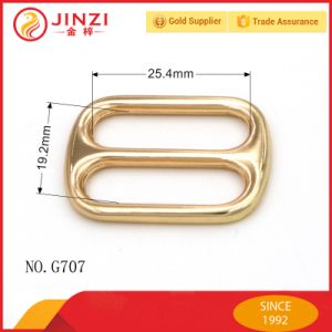Good Quality Metal Tri-Glide Slider Buckle for Dog Collar Accessories pictures & photos