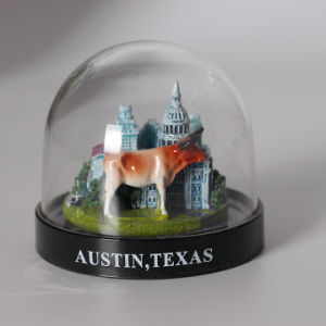 Cheap Price Mini Plastic Castle Snow Globe for Promotion Gifts pictures & photos