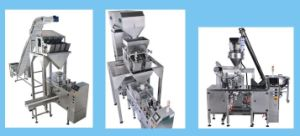 Pre-Bag Pouch Packing Machine for Coffee, Powder, Paste, Liquid