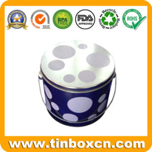 Metal Pail Tin for Chocolate Candy Packaging Box, Bucket Tin pictures & photos