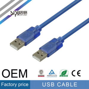 Sipu Male to Male USB Cable 2.0 Data for Computer