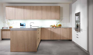 Modern Melamine Finish Wooden Kitchen Cabinet pictures & photos