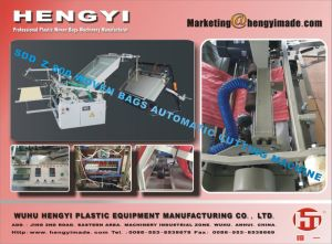 Automatic Plastic Woven Sacks Cutting Machine