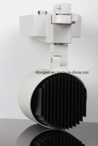 High Quality White & Black LED Down Tube Track Light, 35W COB Track Light pictures & photos