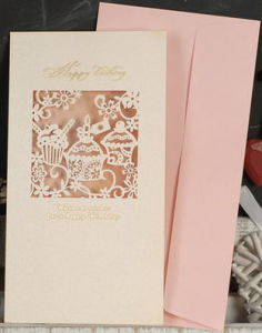 Packaging Box Customized Accept Greeting Card/Birthday Card/Festival Card pictures & photos