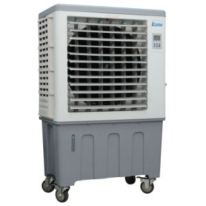 Floor Standing Evaporative Air Cooler with Strong Airflow Use Outdoor pictures & photos