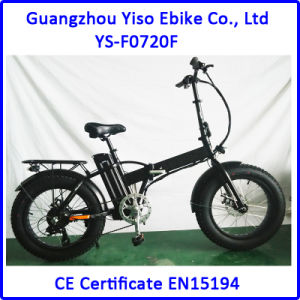 20 Inch Italy Fat Tire Folding Electric Bike pictures & photos