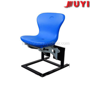 Blm-2017 Sturdy Football Seats for Sale Cheap Plastic Chairs Factory HDPE Durable Plastic Chair Outdoor Plastic Stadium Chair Price pictures & photos