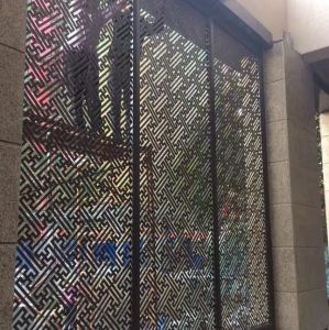 High Quality CNC Cutting Aluminum Perforated Panel for Exterior Using pictures & photos