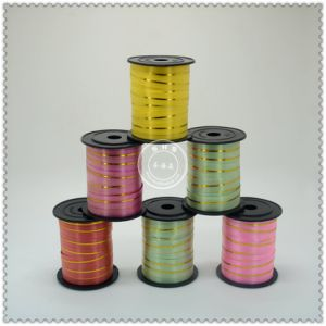 Gift Packaging Flocking Plastic Curling Ribbon Roll pictures & photos