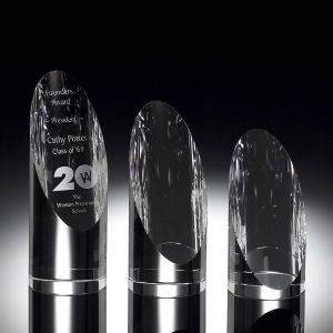 Standing Star Tower Crystal Award for Employee Trophies (#2028) pictures & photos