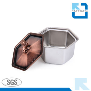 Bronze Hot Sell Stainless Steel Alcohol Hot Pot and Stock/Soup Pot pictures & photos