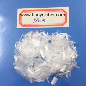 18mm PP Fiber 100% Polypropylene Monofilament Fiber for Road and Bridge Crack Resistance Construction pictures & photos