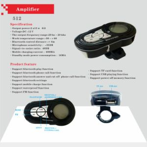 Wholesale Parts and Accessories Amplifier Motorcycle Audio pictures & photos