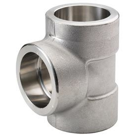 Pipe Fittings Carbon Steel Socket Tee pictures & photos