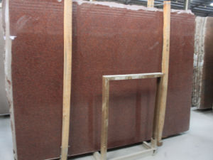 Imported India Red Polished Granite Slab pictures & photos