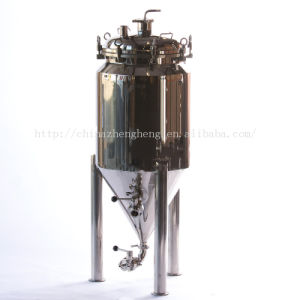 Stainless Steel Jacketed Conical Fermenter pictures & photos