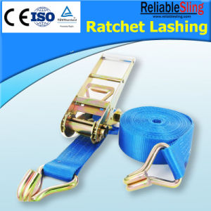 En12195-2 Reliablesling Polyester Ratchet Lashing pictures & photos