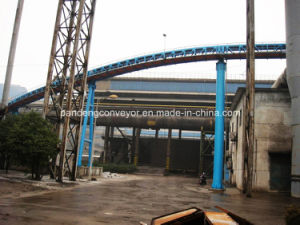 Coal Mine Pipe Conveyor System for Conveying Coal, Coke