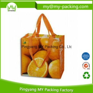 Durable Packing Printing PP Woven Shopping Bags for Promotion pictures & photos