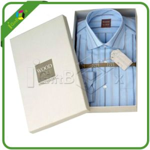 Fashion Paper T-Shirt Box with Lid for Packaging pictures & photos